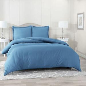 Egyptian Comfort 3 PC Duvet Cover Set 1800 Count Ultra Soft Cover for Comforter