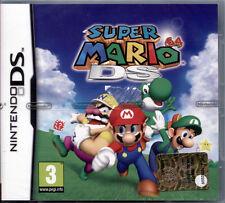 SUPER MARIO 64 DS - NINTENDO DS/DSi/3DS NUOVO E SIGILLATO, EDIZIONE ITALIANA