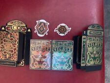 More details for the secret playing cards 2 gilded decks kickstarter chamber of wonder & tucks