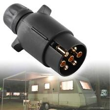 12V Remolque 7 Pin Eléctrico Enchufe Plástico N-Tipo Cableado Conector Adaptador