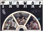 1995 LEAF SLIDESHOW: FRANK THOMAS #2B OF 8 CHICAGO WHITE SOX HALL OF FAME