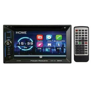 """Power Acoustik PD623B 6.2"""" Double Din DVD Receiver with Bluetooth"""