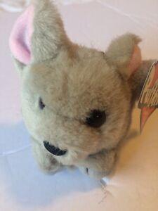 Puffkins Collectible Plush Keychain Key Ring MURPHY / mouse Stuffed Animal NWT