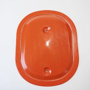 1970-71 440 6 Pack Oval Air Cleaner Lid Cuda Challenger Orange Pac Six MOPAR 70