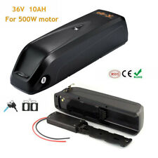 36V 10AH 350W 500W HaiLong Lithium Li-ion Pack E-Bike Battery Electric Bicycle