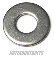 m3/4/5/6/8/10/12mm a2 stainless steel form A  DIN125 flat washers choose qty