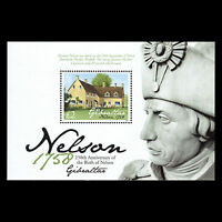 Gibraltar 2008 - Birth Lord Horatio Nelson Architecture Military - Sc 1134 MNH
