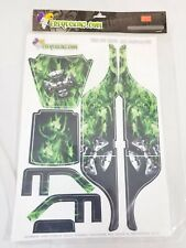 🔥 FreqesKinz True Fire Green Design Body Decal Set for the Losi Grappler Pro