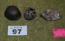1/6 SCALE WW II GERMAN HELMET & COVER FOR DRAGON IN DREAMS DID BBI FIGURES 097