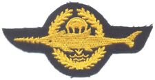 GERMANY Navy Combat Swimmer (Kampfschwimmer) qualification badge, Class I, cloth