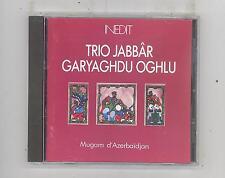 (CD) Azerbaidjan: Trio Jabbar Garyaghdu Oghlu-Anthologie/ Mugam d'Azerbaidjan