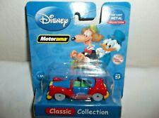 Disney Motorama Die-Cast Classic Collection 1:64  SCOOGE MC DUCK Car