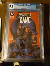 Batman: Vengeance of Bane Special #1 (Jan 1993, DC) 1st print cgc 9.8 white page