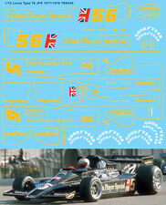 1/12 Lotus 78 MK.III 1977 / 1978 JPS for Tamiya Decals TB Decal TBD244