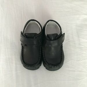 Baby Toddler Infant Boy high-quality  Sheep Leather dress Shoes Size 3 4 5 6 7