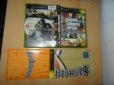 Videogiochi manuale inclusi Grand Theft Auto per Microsoft Xbox