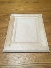 "Raised Panel 13"" X 16"" Unfinished Birch Cabinet Door (Stain Grade ) Brand New"