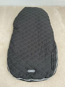 JJ Cole Collections Black And Grey Urban Bundle Me  Baby Car Seat Cover Toddler