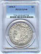 1898-S MORGAN DOLLAR PCGS XF40
