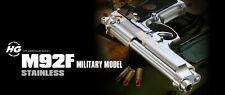 """""""M92F MILITARY MODEL HG"""" Tokyo Marui Metal * AIR HOP hand gun from Japan NEW!!"""