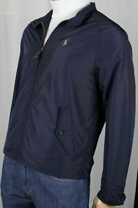 POLO RALPH LAUREN NAVY BLUE JACKET WINDBREAKER NWT $198