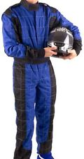 GO Kart Hobby Single Layer Race suit BLUE-BLACK- New Mega Sale Unbeatable Price