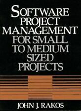 NEW - Software Project Management for Small to Medium Sized Projects
