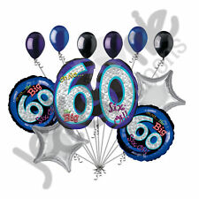 11 pc Oh No the Big 60 Happy Birthday Balloon Bouquet Decoration Party 60th