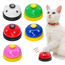 Anti-Slip Dog Cat Behavior Training Bells Meal Potty Bark Bite Trainers Dog Toys