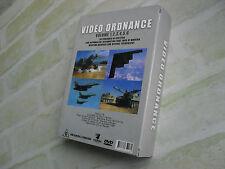 VIDEO ORDNANCE - VOLUME 1 to 6 - air attack - dog fight - tank - 3 DVD BOX SET