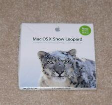 Mac OS X version 10.6.3 Snow Leopard (Mac Intel Processor) Dented Box New