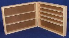 2 pack Pine Model Paint Storage Shelf