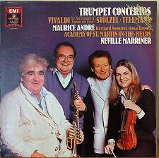 VIVALDI/STOLZEL+ TRUMPET CONCERTOS-M1983LP DIGITAL PROMO MAURICE ANDRE/MARRINER