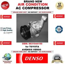 DENSO AIR CONDITIONING AC COMPRESSOR OEM: 8831044150 for TOYOTA AVENSIS VERSO