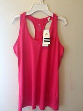 Adidas Climalite Performance tank Top Women's Sport size M Pink New with Tags