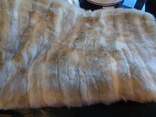 Williams Sonoma Faux Fur Lumbar Pillow Cover, Arctic Fox 14 X 22 New OR $69