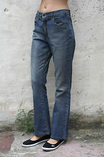LEVIS 525 Ladies Vintage 80s Blue Denim Jeans W30 L29 Uk12 STRETCH Bootcut Faded