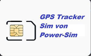 Prepaid GPS Tracker Sim Alarmanlagen Ortung Sim Karte 10 Euro Startguthaben