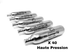 40 X Co2 PUFF DINO CO2 Cartouches Co2 Airsoft 12g Première Marque Vérins Haute