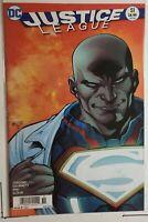 Justice League #51 (DC 2016) New 52 Lex Luthor Misprint Cover Error