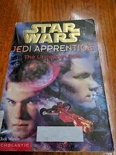 Star Wars Jedi Apprentice #6 The Uncertain Path By Jude Watson Paperback 2000.