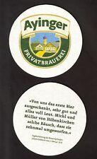 BD-Coperchio di birra, privato birreria Ayinger, Aying/Alta Baviera