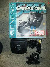 Sega Genesis 3 Black Console with Box #157