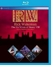 Rick Wakeman-The Six Wives of Henry VIII-Live at Hampton Court BLU-RAY NUOVO