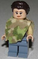 Lego New Princess Leia Minifigure Camouflage Cape from 75094