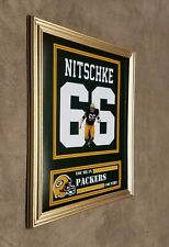 Green Bay Packers Ray Nitschke 8x10 Framed Jersey Photo
