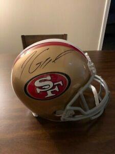 Jimmy Garoppolo Signed  Autographed Full Size 49ers Helmet Tristar