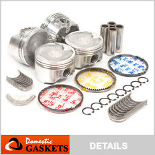 98-01 Toyota Camry Solara 2.2L DOHC Pistons Bearings and Rings Set 5SFE