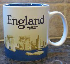 NWT Starbucks ENGLAND UK Version 3 Global Icon City Collector Series Mug w/ SKU
