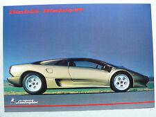 Prospetto LAMBORGHINI DIABLO VT, 1995, 2 pagine, lucido, inglese